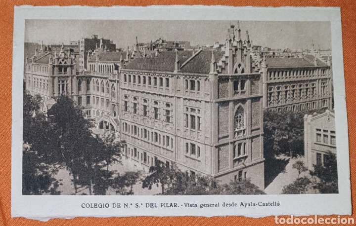 Postales: 23 antiguas Postales del Colegio de Ntra. Sra. del Pilar (Marianista) Castelló, 56 - Foto 3 - 194171348