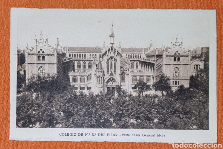 Postales: 23 antiguas Postales del Colegio de Ntra. Sra. del Pilar (Marianista) Castelló, 56 - Foto 4 - 194171348