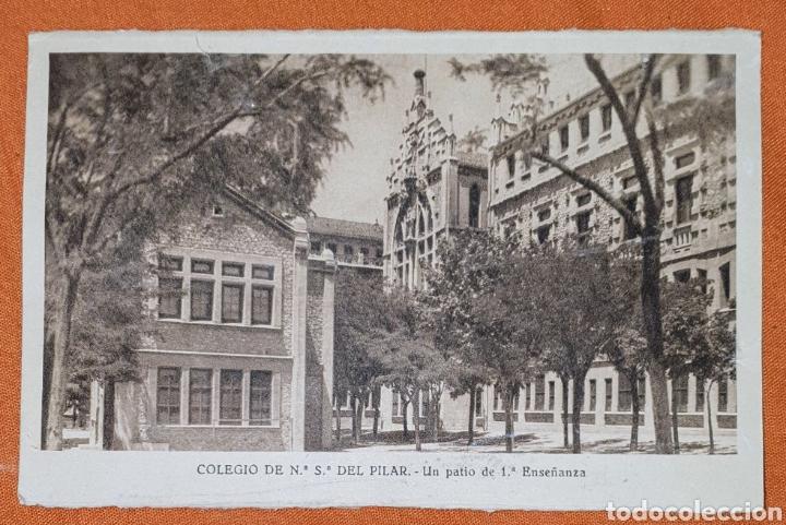Postales: 23 antiguas Postales del Colegio de Ntra. Sra. del Pilar (Marianista) Castelló, 56 - Foto 5 - 194171348