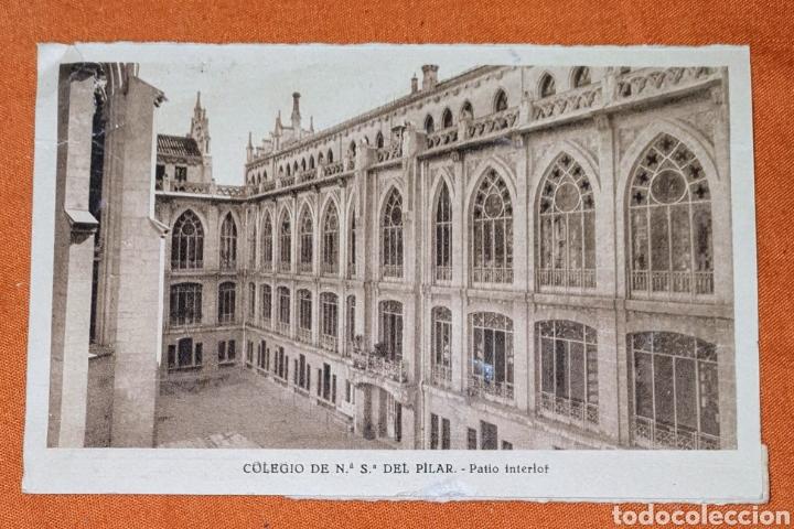Postales: 23 antiguas Postales del Colegio de Ntra. Sra. del Pilar (Marianista) Castelló, 56 - Foto 6 - 194171348