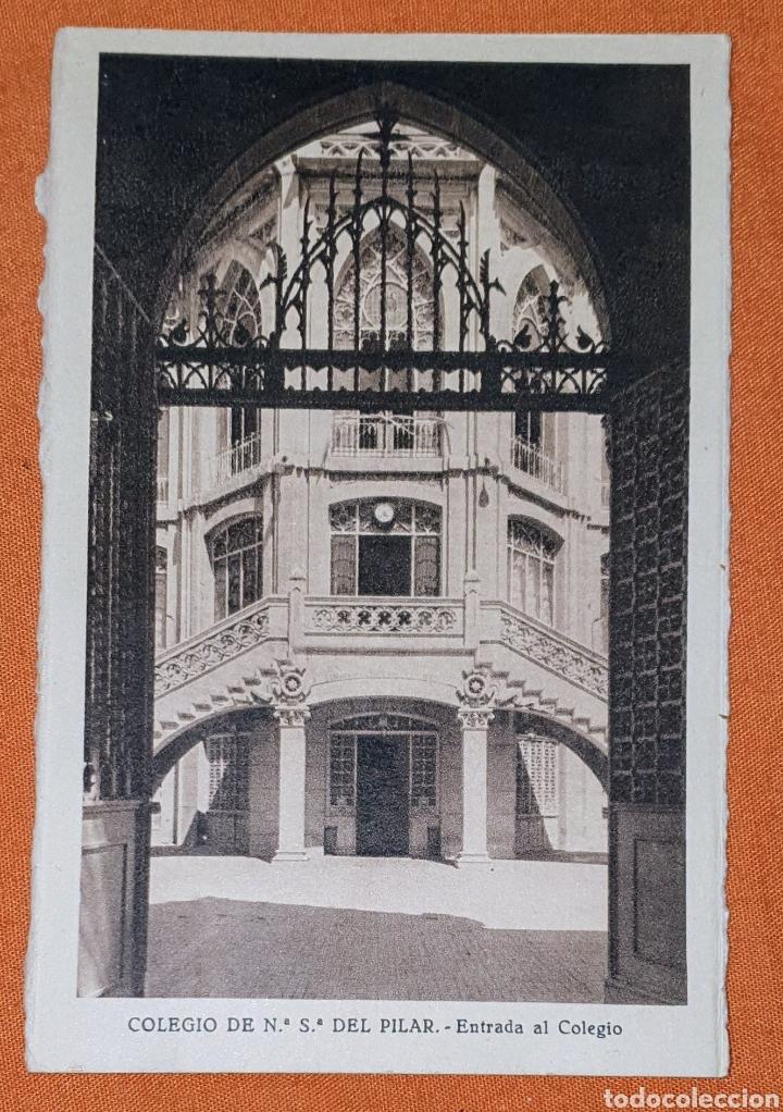 Postales: 23 antiguas Postales del Colegio de Ntra. Sra. del Pilar (Marianista) Castelló, 56 - Foto 7 - 194171348