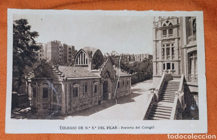Postales: 23 antiguas Postales del Colegio de Ntra. Sra. del Pilar (Marianista) Castelló, 56 - Foto 8 - 194171348