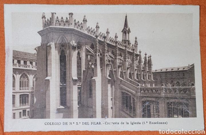 Postales: 23 antiguas Postales del Colegio de Ntra. Sra. del Pilar (Marianista) Castelló, 56 - Foto 9 - 194171348
