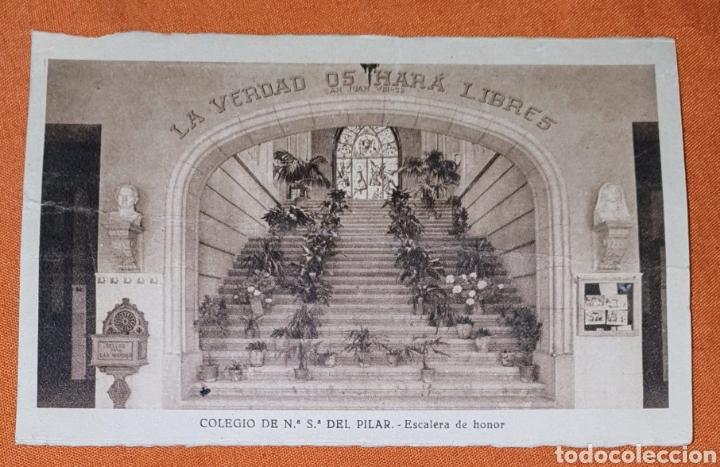 Postales: 23 antiguas Postales del Colegio de Ntra. Sra. del Pilar (Marianista) Castelló, 56 - Foto 10 - 194171348
