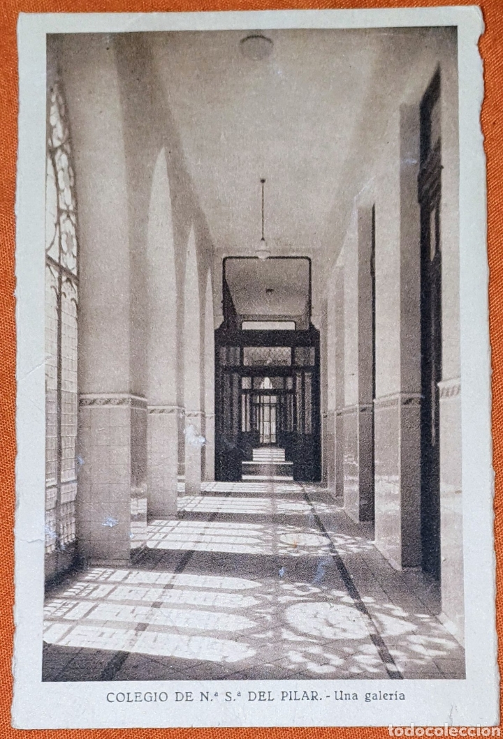 Postales: 23 antiguas Postales del Colegio de Ntra. Sra. del Pilar (Marianista) Castelló, 56 - Foto 11 - 194171348