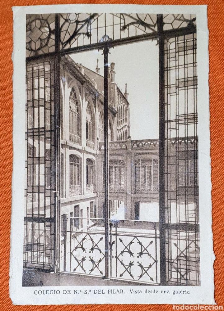 Postales: 23 antiguas Postales del Colegio de Ntra. Sra. del Pilar (Marianista) Castelló, 56 - Foto 12 - 194171348