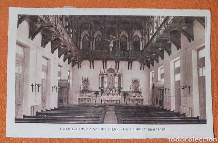Postales: 23 antiguas Postales del Colegio de Ntra. Sra. del Pilar (Marianista) Castelló, 56 - Foto 13 - 194171348