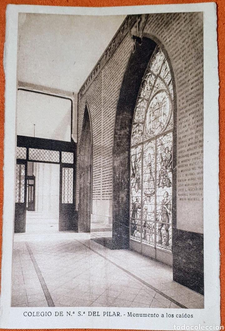 Postales: 23 antiguas Postales del Colegio de Ntra. Sra. del Pilar (Marianista) Castelló, 56 - Foto 16 - 194171348