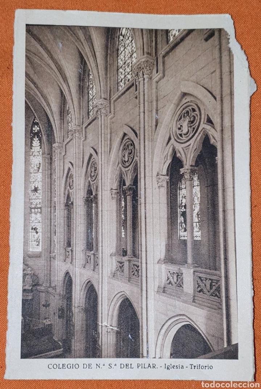 Postales: 23 antiguas Postales del Colegio de Ntra. Sra. del Pilar (Marianista) Castelló, 56 - Foto 18 - 194171348