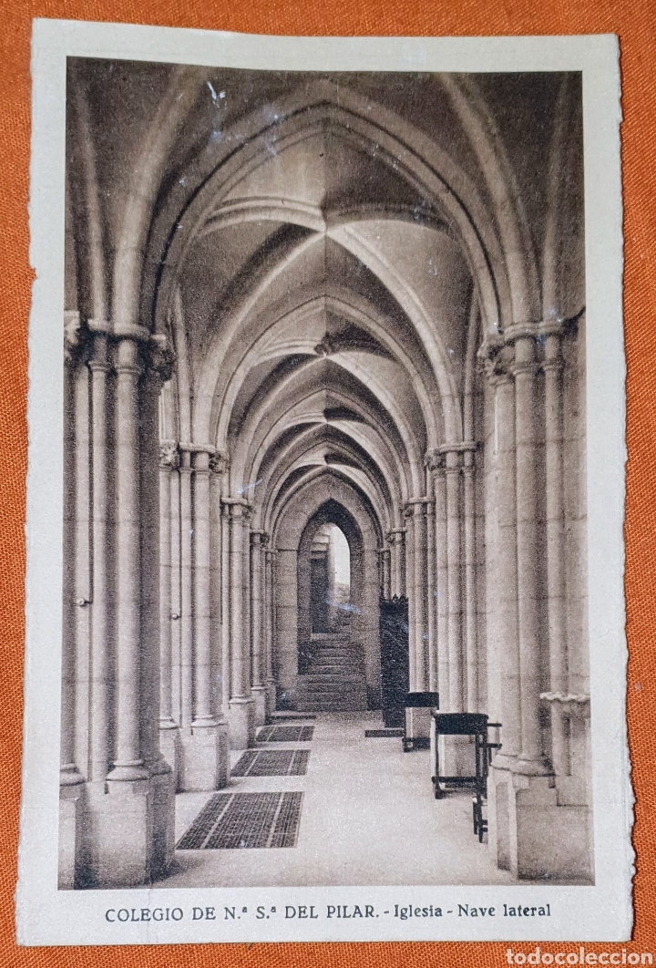 Postales: 23 antiguas Postales del Colegio de Ntra. Sra. del Pilar (Marianista) Castelló, 56 - Foto 19 - 194171348