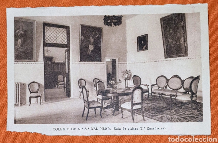 Postales: 23 antiguas Postales del Colegio de Ntra. Sra. del Pilar (Marianista) Castelló, 56 - Foto 20 - 194171348
