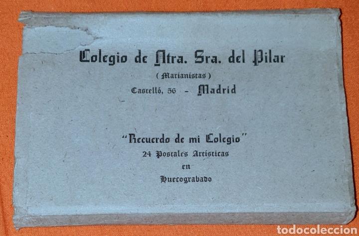 Postales: 23 antiguas Postales del Colegio de Ntra. Sra. del Pilar (Marianista) Castelló, 56 - Foto 24 - 194171348