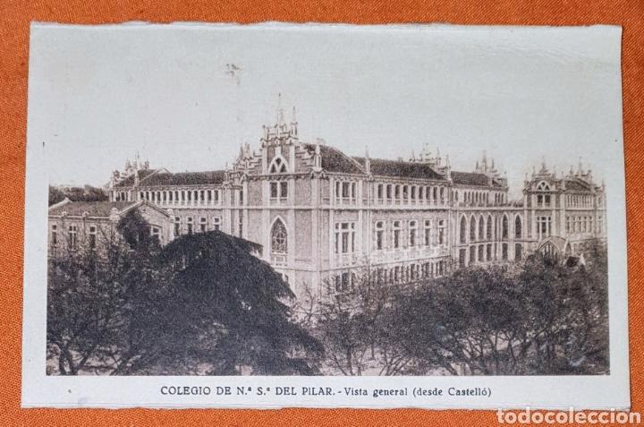 23 ANTIGUAS POSTALES DEL COLEGIO DE NTRA. SRA. DEL PILAR (MARIANISTA) CASTELLÓ, 56 (Postales - España - Comunidad de Madrid Antigua (hasta 1939))