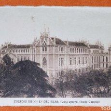 Postales: 23 ANTIGUAS POSTALES DEL COLEGIO DE NTRA. SRA. DEL PILAR (MARIANISTA) CASTELLÓ, 56. Lote 194171348