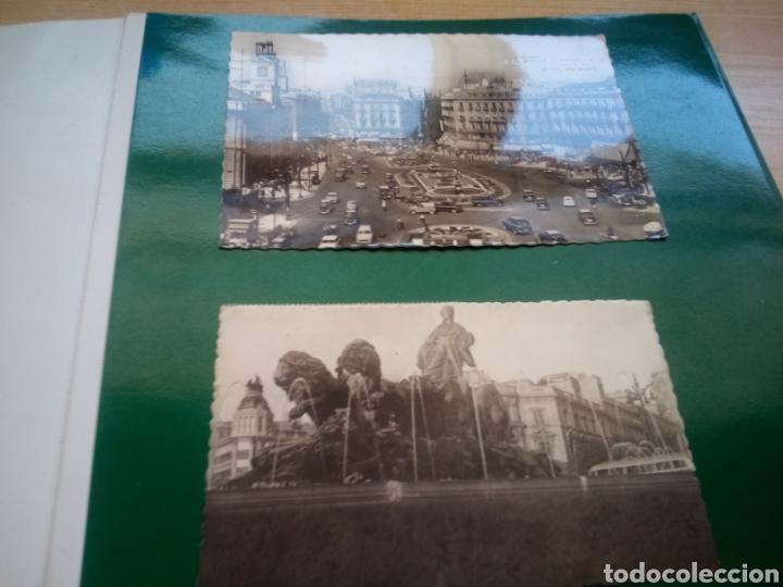 DOS ANTIGUAS POSTALES DE MADRID. AÑOS 60. CIBELES Y PUERTA DEL SOL (Postales - España - Madrid Moderna (desde 1940))