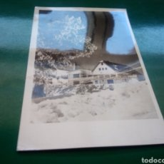 Postales: ANTIGUA POSTAL DE PUERTO DE NAVACERRADA DE MADRID. AÑOS 50-60. Lote 194199250
