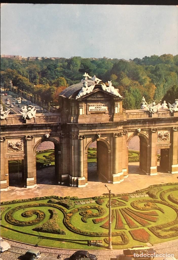 MADRID PUERTA DE ALCALA. ANTIGUA. (Postales - España - Comunidad de Madrid Antigua (hasta 1939))