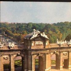 Postales: MADRID PUERTA DE ALCALA. ANTIGUA.. Lote 194221987