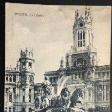 Postales: MADRID AÑO 1909 . LA CIBELES.. Lote 194222155