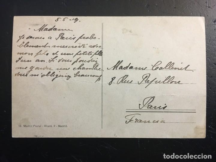 Postales: Madrid año 1909 . La Cibeles. - Foto 2 - 194222155