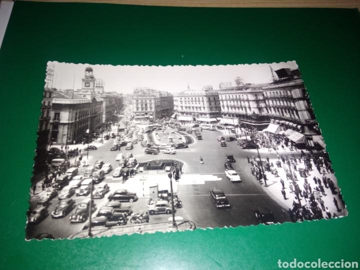 ANTIGUA POSTAL DE MADRID. PUERTA DEL SOL. POSTALES P. ESPERÓN. AÑOS 50 (Postales - España - Madrid Moderna (desde 1940))