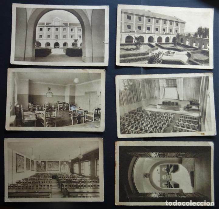 6 POSTALES DE LA ESCUELA DE CAPACITACIÓN DE TRABAJADORES DE MADRID , AÑOS 50, VER FOTOS Y COMENTARIO (Postales - España - Madrid Moderna (desde 1940))