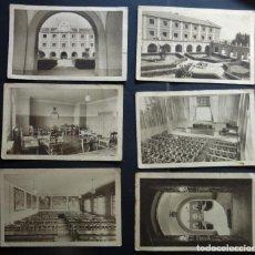 Postales: 6 POSTALES DE LA ESCUELA DE CAPACITACIÓN DE TRABAJADORES DE MADRID , AÑOS 50, VER FOTOS Y COMENTARIO. Lote 194223115