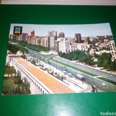 Postales: ANTIGUA POSTAL DE MADRID. AVENIDA DEL GENERALÍSIMO. AÑOS 60. Lote 194234222