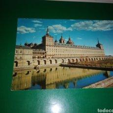 Postales: ANTIGUA POSTAL DE EL ESCORIAL MADRID. AÑOS 60. Lote 194234473