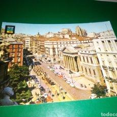 Postales: ANTIGUA POSTAL DE MADRID. PLAZA DE LAS CORTES. AÑOS 60. Lote 194237263