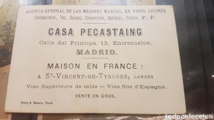 Postales: Lote completo 4 cromos casa pecasting comunidad de Madrid - Foto 6 - 194245348