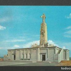 Postales: POSTAL CIRCULADA - CERRO DE LOS ANGELES 320 - MADRID - MONUMENTO AL SAGRDO CORAZON -ED BEASCOA. Lote 194285292