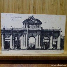 Postales: POSTAL DE MADRID.PUERTA DE ALCALÁ.HAUSER Y MENET.. Lote 194290673