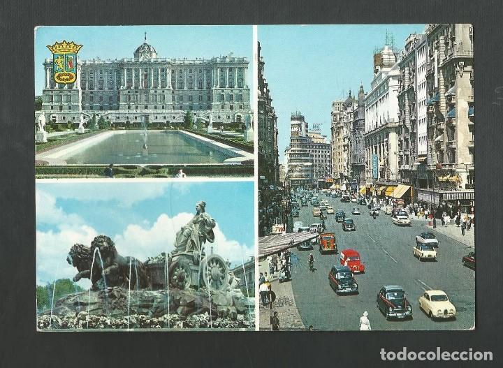 POSTAL CIRCULADA - MADRID 62 - EDITA GARCIA GARRABELLA (Postales - España - Madrid Moderna (desde 1940))