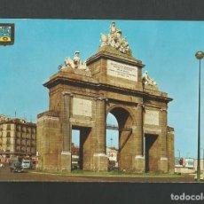 Postales: POSTAL CIRCULADA - MADRID 160 - PUERTA DE TOLEDO - EDITA ESCUDO DE ORO. Lote 194291843