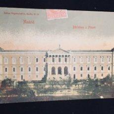 Postales: POSTAL COLOREADA N 965 JULIUS NAGELSCHMIDT MADRID BIBLIOTECA Y MUSEOS INSCRITA CIRCULADA. Lote 194298618