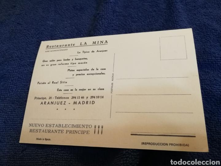 Postales: Postal restaurante la mina en madrid - Foto 2 - 194310763