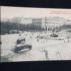 Postales: POSTAL MADRID PLAZA DE CASTELAR 689 FOT CASTAÑEIRA Y ALVAREZ NO INSCRITA NO CIRCULADA . Lote 194313961