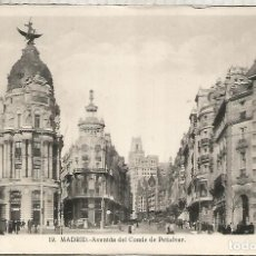 Postales: MADRID AVENIDA CONDE PEÑALVER ESCRITA. Lote 194324523