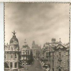 Postales: MADRID CALLE ALCALA SIN ESCRIBIR. Lote 194325162