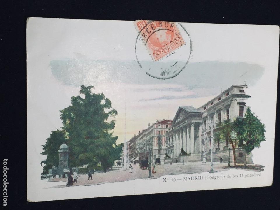 POSTAL N 29 MADRID CONGRESO DE LOS DIPUTADOS JOSE BLAS Y CIA (Postales - España - Comunidad de Madrid Antigua (hasta 1939))