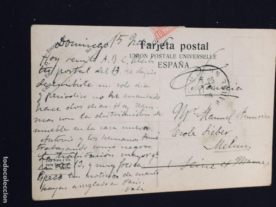 Postales: POSTAL N 29 MADRID CONGRESO DE LOS DIPUTADOS JOSE BLAS Y CIA - Foto 2 - 194335568