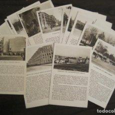 Postales: MADRID-LOTE DE 17 POSTALES ANTIGUAS-EDICIONES CAYON-VER FOTOS-(67.008). Lote 194335588