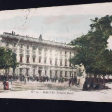 Postales: POSTAL MADRID PALACIO REAL N 30 ED JOSE BLASS Y COMPAÑIA INSCRITA CIRCULADA. Lote 194339698