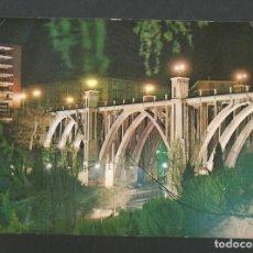 Postales: POSTAL CIRCULADA - MADRID 17 - VIADUCTO - EDITA NOCTURNOS. Lote 194359820