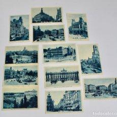 Postales: P-10039. LOTE DE 12 POSTALES MADRID.. Lote 194387265