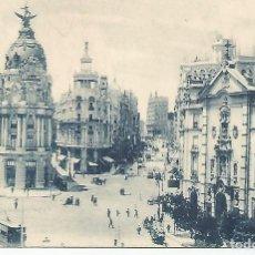 Postales: MADRID.ENTRADA A LA GRAN VÍA. Lote 194399271