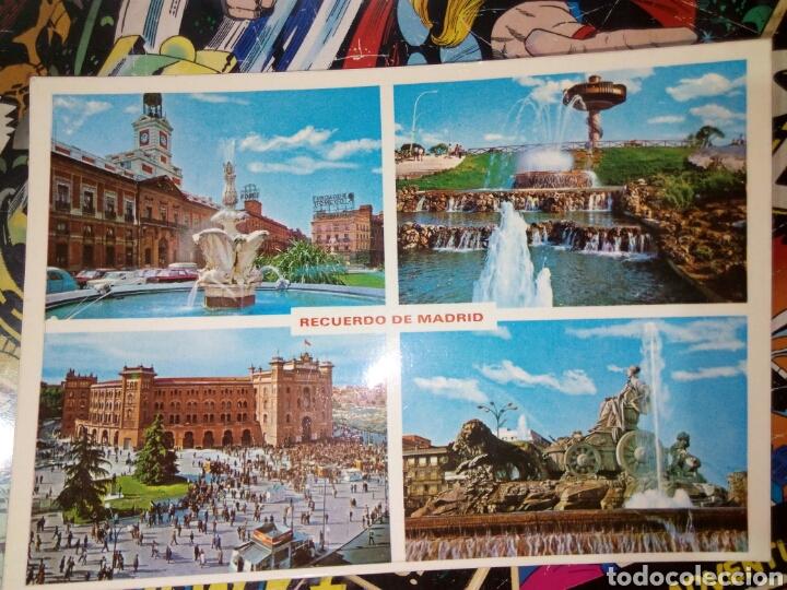 POSTAL DE MADRID. DIFERENTES ASPECTOS. (Postales - España - Madrid Moderna (desde 1940))