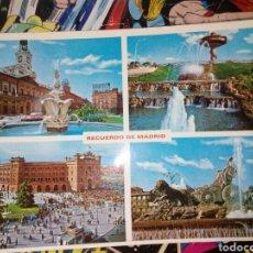 Postales: POSTAL DE MADRID. DIFERENTES ASPECTOS.. Lote 194490135