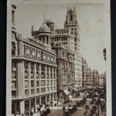 Postales: MADRID, ANTIGUA POSTAL CIRCULADA CON SELLO DEL AÑO 1942 . Lote 194497931